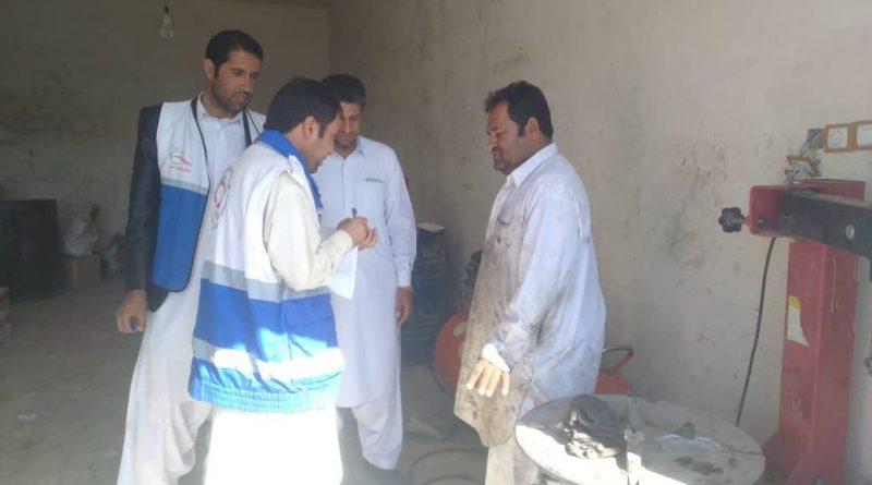 بازدید مشترک شهرداری و مرکز بهداشت با هدف آموزش و بررسی وضعیت دفع زباله و فاضلاب تولیدی